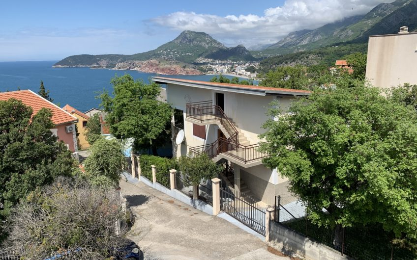 House with sea views in Bar, Ratac. Urgent sale